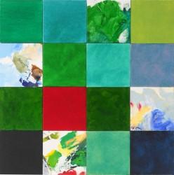 Paysage, hommage à Jean-Baptiste Corot, de Bertrand Claverie