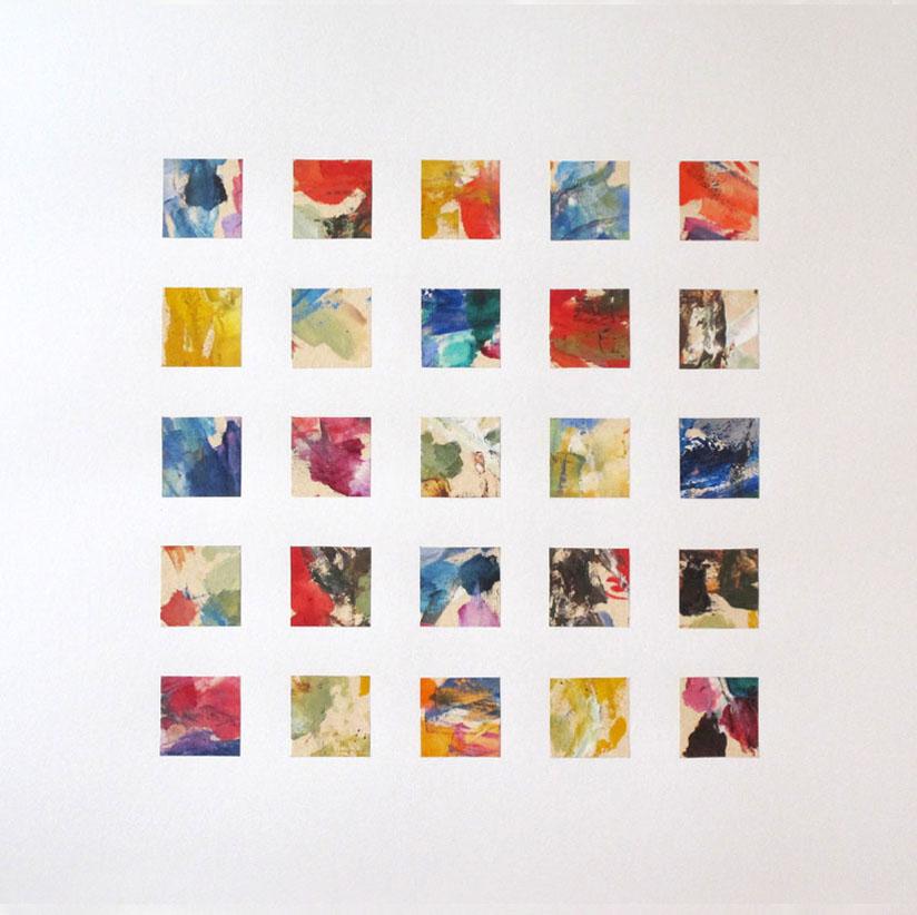 Le premier paysage (dyptique), de Bertrand Claverie
